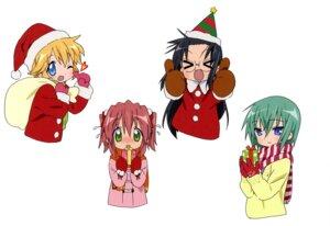 Rating: Safe Score: 10 Tags: christmas iwasaki_minami kobayakawa_yutaka lucky_star patricia_martin tamura_hiyori User: Radioactive
