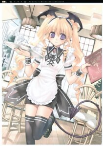 Rating: Safe Score: 24 Tags: aquarian_age kawaku tail thighhighs waitress User: midzki
