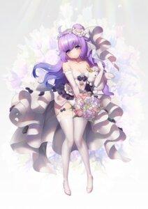 Rating: Safe Score: 51 Tags: azur_lane cleavage dress heels stockings thighhighs unicorn_(azur_lane) wedding_dress y.i._(lave2217) User: BattlequeenYume
