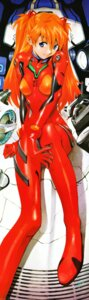 Rating: Safe Score: 34 Tags: bodysuit neon_genesis_evangelion sadamoto_yoshiyuki souryuu_asuka_langley User: Darbus