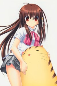 Rating: Safe Score: 17 Tags: key little_busters! na-ga natsume_rin seifuku User: marechal
