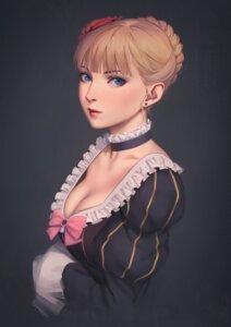 Rating: Safe Score: 20 Tags: beatrice cleavage dress miura_naoko umineko_no_naku_koro_ni User: charunetra