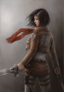Rating: Safe Score: 18 Tags: jason_peng mikasa_ackerman shingeki_no_kyojin sword User: Romio88