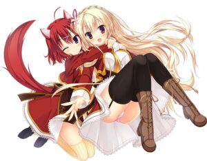 Rating: Safe Score: 138 Tags: amairo_islenauts animal_ears kizuki_erika masaki_gaillard shirley_warwick stockings tail thighhighs yuzu-soft User: Infernal-ZERO