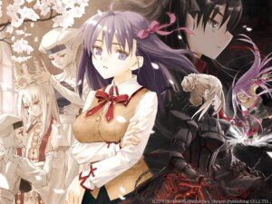Rating: Safe Score: 30 Tags: fate/stay_night illyasviel_von_einzbern konoe_ototsugu matou_sakura rider saber saber_alter toosaka_rin type-moon wallpaper User: Devard