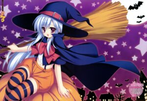 Rating: Safe Score: 28 Tags: fixed halloween munyuu thighhighs witch User: cosmic+T5