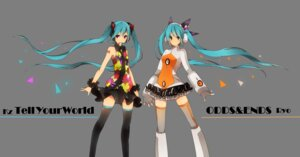 Rating: Safe Score: 31 Tags: hatsune_miku headphones naruto_maki odds_&_ends_(vocaloid) tell_your_world_(vocaloid) thighhighs vocaloid User: animeprincess