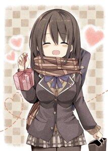 Rating: Safe Score: 35 Tags: matsuri_uta pantyhose seifuku valentine User: Romio88