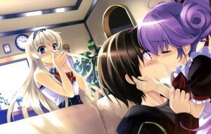 Rating: Safe Score: 62 Tags: boku_to_kanojo_ni_furu_yoru maid misaki_kurehito User: fireattack