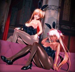 Rating: Safe Score: 25 Tags: animal_ears bunny_ears bunny_girl cg cleavage custom_maid_3d_2 heels kikka_sora pantyhose tail User: saemonnokami