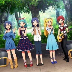 Rating: Safe Score: 22 Tags: digital_version disc_cover dress emily_stewart guitar heels julia_(idolm@ster) kisaragi_chihaya the_idolm@ster the_idolm@ster_million_live! tokugawa_matsuri toyokawa_fuuka User: Anonymous