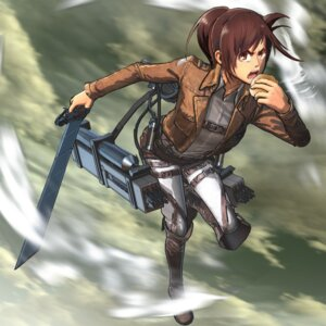 Rating: Safe Score: 9 Tags: shingeki_no_kyojin sword tagme User: Radioactive