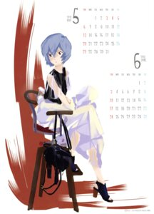 Rating: Safe Score: 15 Tags: ayanami_rei calendar heels honda_takeshi neon_genesis_evangelion User: drop