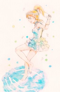 Rating: Safe Score: 18 Tags: ayase_eli dress feet lilylion26 love_live! User: charunetra