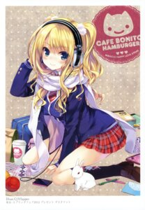 Rating: Safe Score: 89 Tags: headphones k-books ohara_tometa qp:flapper seifuku User: WtfCakes