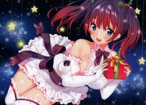Rating: Safe Score: 93 Tags: christmas dress matarou thighhighs User: Hatsukoi