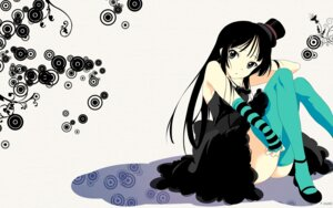 Rating: Safe Score: 36 Tags: akiyama_mio fujisaka_kuuki k-on! lolita_fashion thighhighs wallpaper User: chronosphere