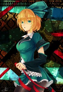 Rating: Safe Score: 15 Tags: kagamine_rin liuli pantyhose vocaloid User: eridani