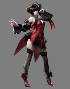 Rating: Safe Score: 27 Tags: cleavage elisa heels horns tagme tattoo tekken thighhighs User: NotRadioactiveHonest