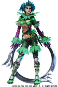 Rating: Questionable Score: 10 Tags: armor cleavage erect_nipples kawano_takuji namco no_bra soul_calibur soul_calibur_iii tira torn_clothes underboob weapon User: Yokaiou