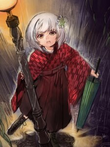Rating: Safe Score: 12 Tags: aika_warasu japanese_clothes lyrica_prismriver touhou umbrella User: Mr_GT