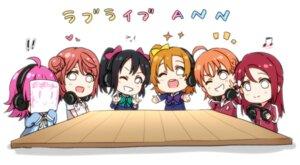 Rating: Safe Score: 12 Tags: chibi crossover gym_uniform headphones kougi_hiroshi kousaka_honoka love_live! love_live!_nijigasaki_high_school_idol_club love_live!_school_idol_festival_all_stars love_live!_sunshine!! sakurauchi_riko seifuku sweater takami_chika tennouji_rina uehara_ayumu yazawa_nico User: saemonnokami