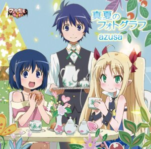 Rating: Safe Score: 13 Tags: astarotte_ygvar disc_cover dress lotte_no_omocha! pointy_ears tail touhara_asuha touhara_naoya User: LiHaonan