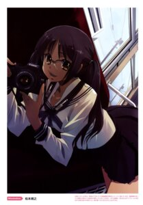 Rating: Safe Score: 14 Tags: color_issue matsumoto_noriyuki megane seifuku User: fireattack