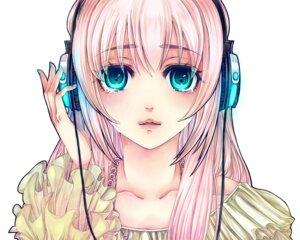 Rating: Safe Score: 21 Tags: headphones megurine_luka vocaloid yuizou User: Radioactive