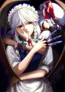 Rating: Safe Score: 14 Tags: izayoi_sakuya remilia_scarlet sdmaiden touhou User: Mr_GT