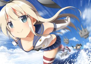 Rating: Safe Score: 49 Tags: bell_(satappe) kantai_collection rensouhou-chan shimakaze_(kancolle) thighhighs User: Stingers