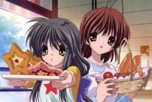 Rating: Safe Score: 15 Tags: clannad furukawa_nagisa ibuki_fuuko User: sdlin2006