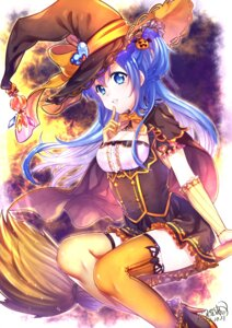 Rating: Safe Score: 22 Tags: cleavage debi_(akuma) halloween heels thighhighs witch User: Mr_GT