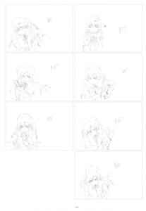 Rating: Safe Score: 2 Tags: kihara_maya monochrome sketch toradora! User: superogira
