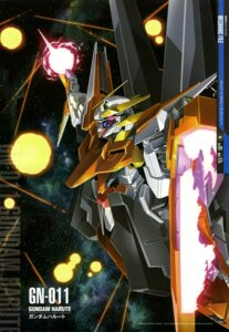 Rating: Safe Score: 13 Tags: gun gundam gundam_00 gundam_00:_a_wakening_of_the_trailblazer mecha takase_kenichi weapon User: drop