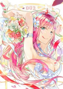 Rating: Safe Score: 23 Tags: cleavage darling_in_the_franxx dress horns wedding_dress ye_weiyang_mio zero_two_(darling_in_the_franxx) User: Spidey