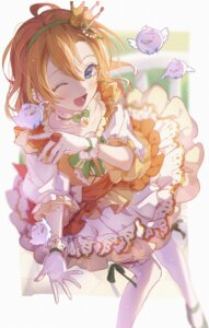 Rating: Safe Score: 20 Tags: dress io_(sinking=carousel) kousaka_honoka love_live! thighhighs User: BattlequeenYume