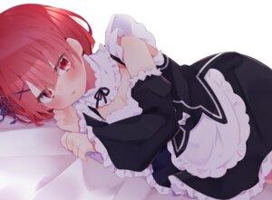 Rating: Safe Score: 11 Tags: cleavage eringikinono maid ram_(re_zero) re_zero_kara_hajimeru_isekai_seikatsu User: Munchau