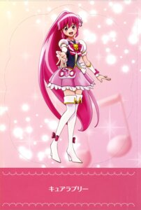 Rating: Questionable Score: 7 Tags: aino_megumi dress happiness_charge_precure! heels pretty_cure thighhighs User: drop