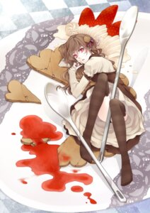 Rating: Questionable Score: 17 Tags: pantsu thighhighs tokikane_mikan User: Radioactive