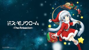 Rating: Safe Score: 22 Tags: christmas maneo miss_monochrome miss_monochrome_(character) ruuchan wallpaper User: SubaruSumeragi