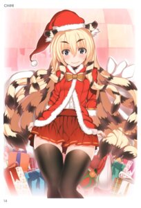Rating: Questionable Score: 27 Tags: animal_ears ch@r christmas thighhighs toranoana User: fireattack