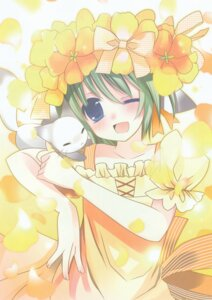 Rating: Safe Score: 10 Tags: dress greenwood hinayuki_usa midori neko User: midzki