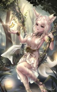 Rating: Safe Score: 17 Tags: animal_ears blade_&_soul cleavage dress no_bra tagme tail User: BattlequeenYume