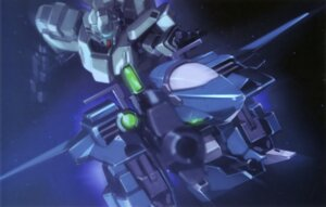 Rating: Safe Score: 10 Tags: gundam gundam_unicorn jegan_type_d mecha rezel unicorn_gundam User: Radioactive