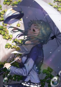 Rating: Safe Score: 38 Tags: gumi oohhya seifuku umbrella vocaloid User: Mr_GT