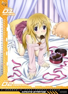 Rating: Safe Score: 99 Tags: calendar charlotte_dunois infinite_stratos nishizawa_shinya valentine User: drop