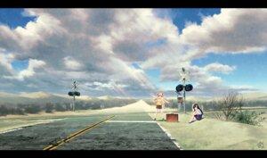 Rating: Safe Score: 32 Tags: hahakigi_hinako kaizou_momo landscape mocha_(technoheart) re:lief_~shin'ai_naru_anata_e~ User: charunetra