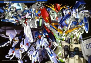 Rating: Safe Score: 12 Tags: gp01 gun gundam gundam_f91_(mecha) mecha nakatani_seiichi nu_gundam rx-78-2_gundam sword unicorn_gundam v2_gundam weapon zeta_gundam_(mobile_suit) User: drop