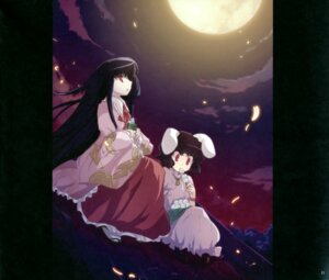 Rating: Safe Score: 6 Tags: houraisan_kaguya inaba_tewi sway_wind tokiame touhou User: midzki